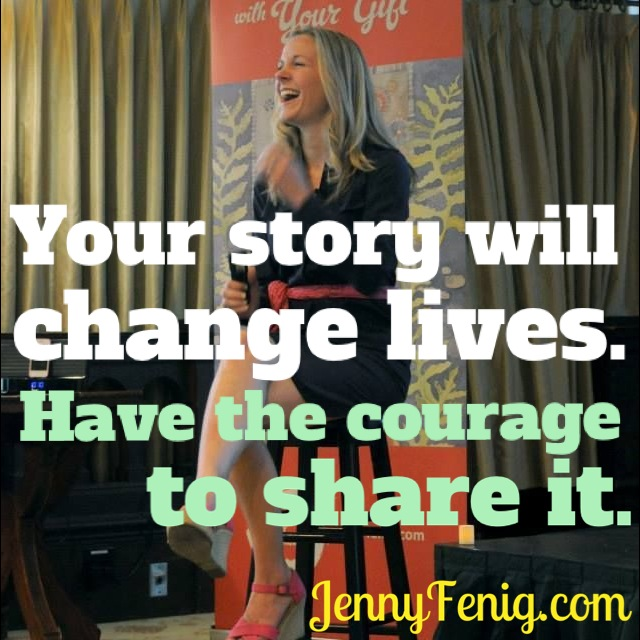 your story will change lives