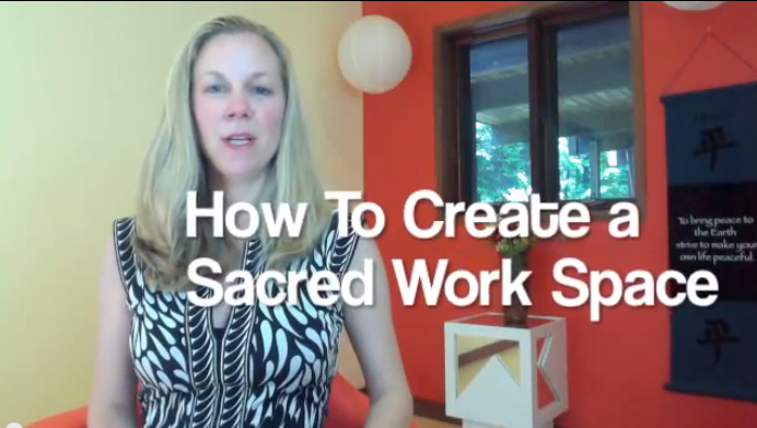 Sacred Work Space