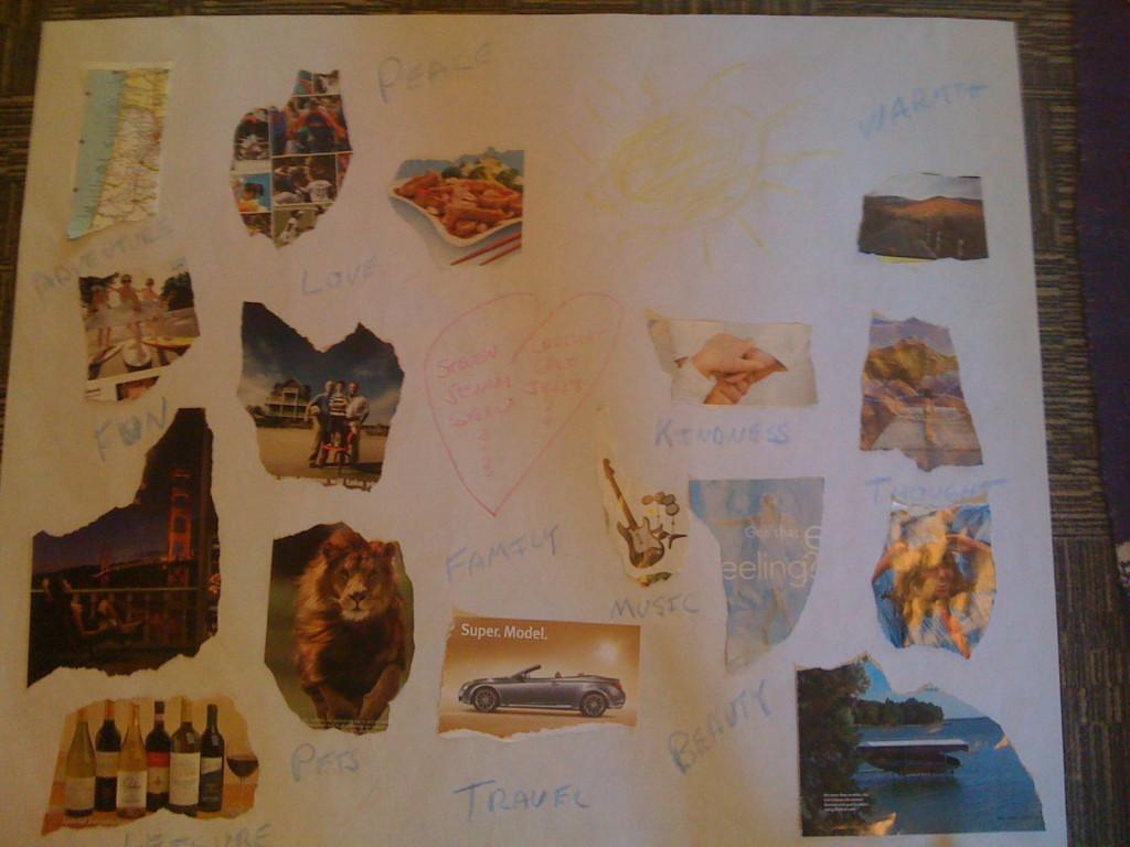 steven vision board - 2010