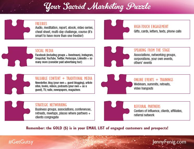 Sacred Marketing Puzzle